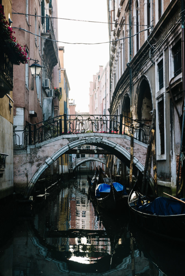 Explore Venice Italy early in the morning, before the tourists wake up.