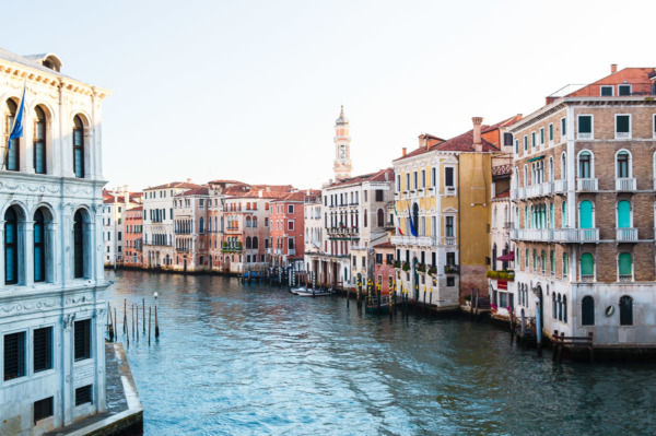 Grand Canal at Dawn, Venice Italy
