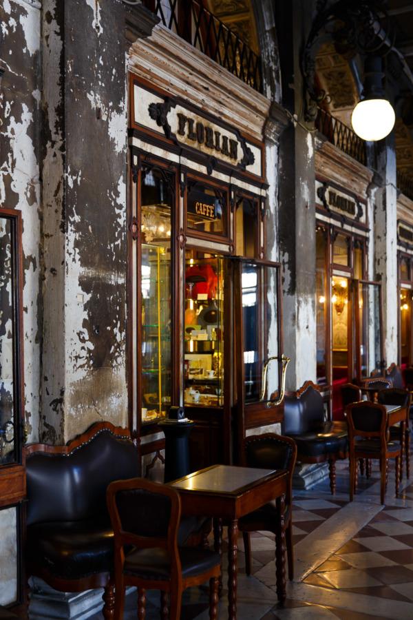 Florian Cafe, Piazza San Marco, Venice Italy