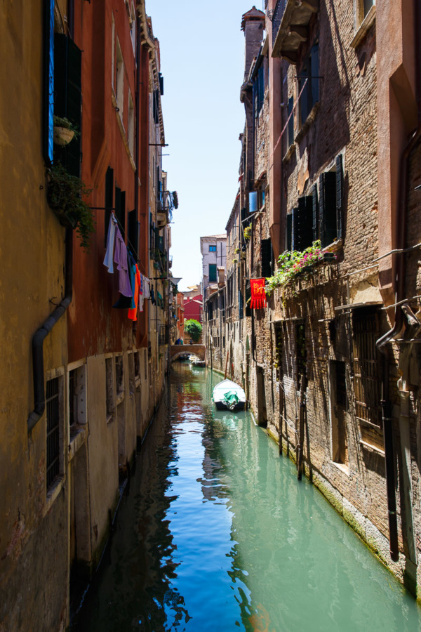 Canal in the sun, 36 Hours in Venice, Italy