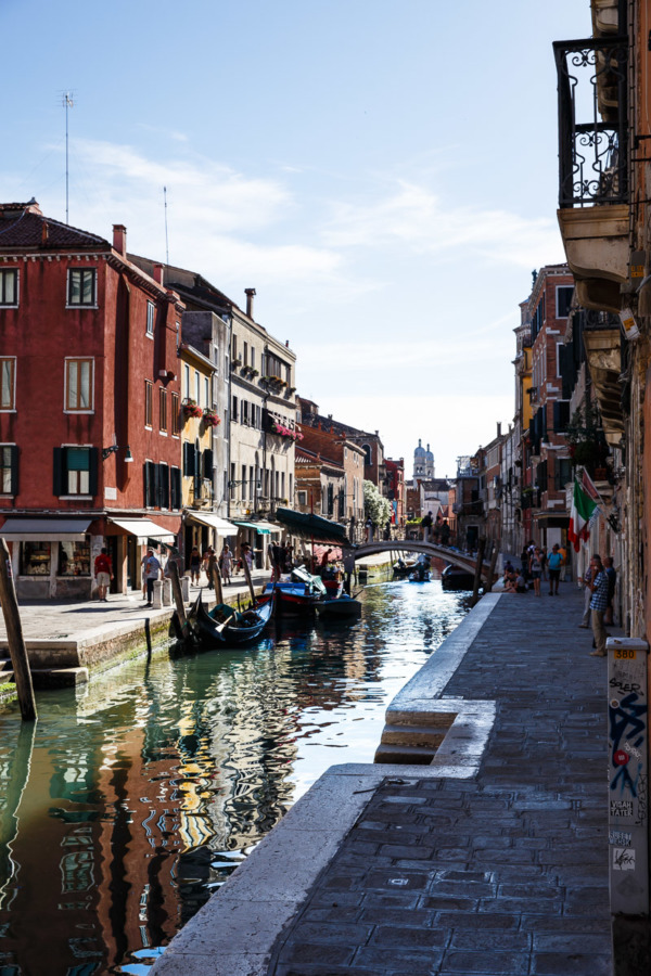 Charming canals, Venice Italy