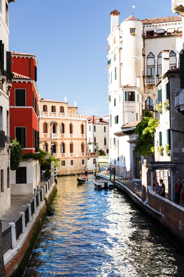 Charming Dorsoduro neighborhood, Venice Italy