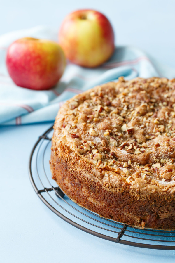 Apple Sour Cream Coffee Cake: My Grandma's Recipe