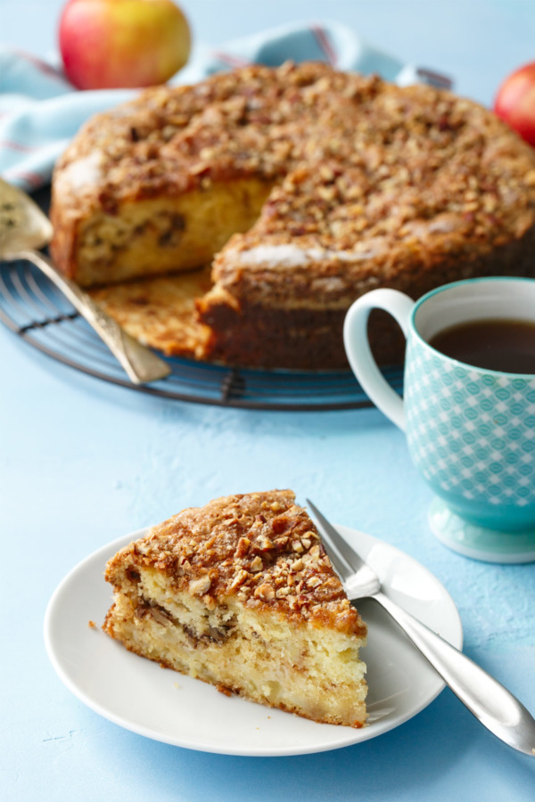 Sour Cream & Apple Coffee Cake Recipe