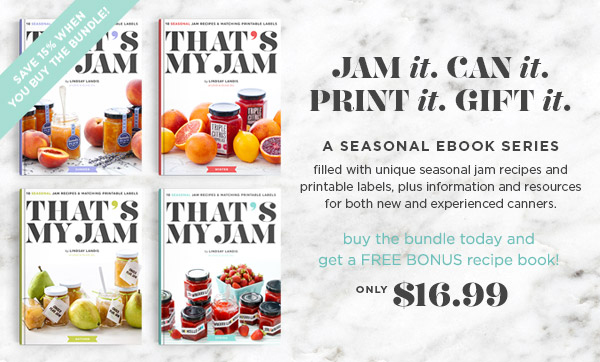 That's My Jam: Four Seasons BUNDLE and save!