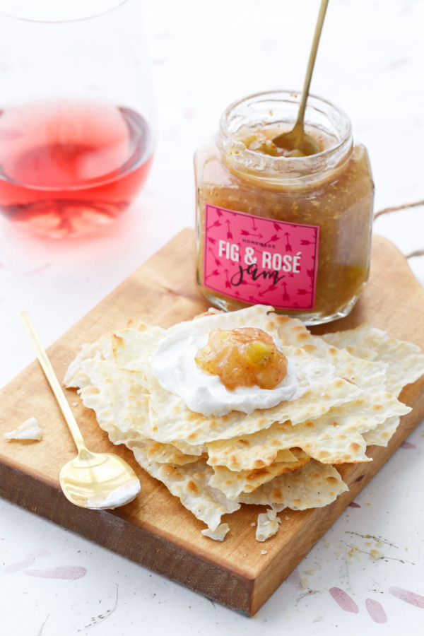 Fig Rosé Jam Recipe