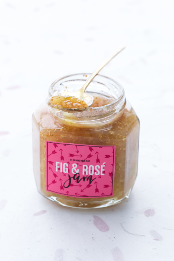 Fig Rosé Jam Canning Recipe