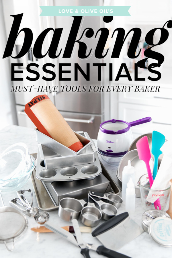 Love & Olive Oil's Baking Essentials: Must-Have Tools for Every Baker