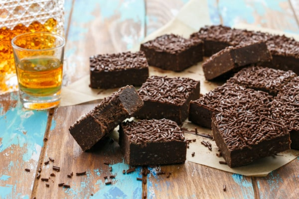 Bourbon Delight Bars