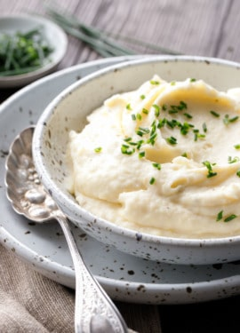 Crème Fraîche Mashed Potato Recipe for Thanksgiving