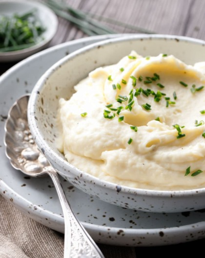 Crème Fraîche Mashed Potato Recipe for Thanksgiving