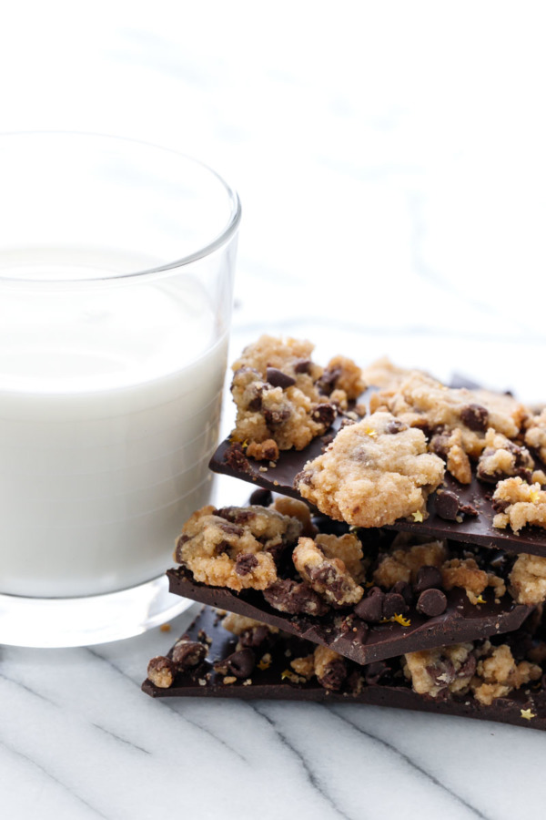 Love Crunchy Chocolate Chip Cookies? You'll love this Chocolate Chip Cookie Bark!