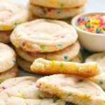Soft & Chewy Sugar Cookies Recipe with Funfetti Sprinkles!