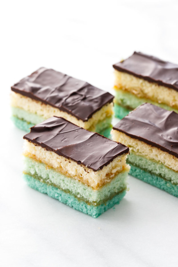 Three-Layer Italian Ombre Cookie Recipe
