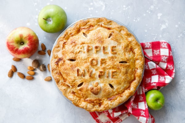 Marzipan Apple Pie Recipe