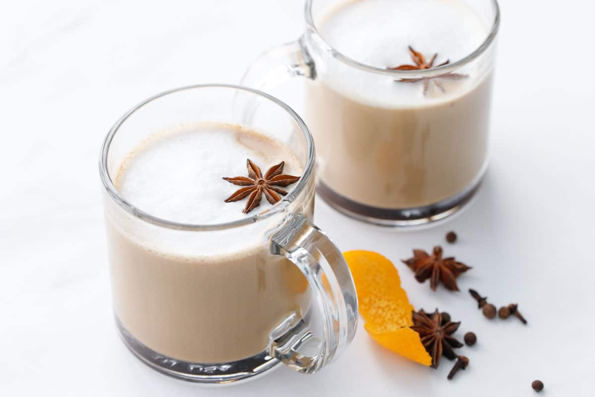 Holiday Mulled Latte