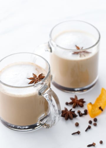 Mulled Cafe au Lait Recipe for Christmas