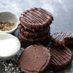 Get the Recipe: Chocolate Salt & Pepper Sable Cookies