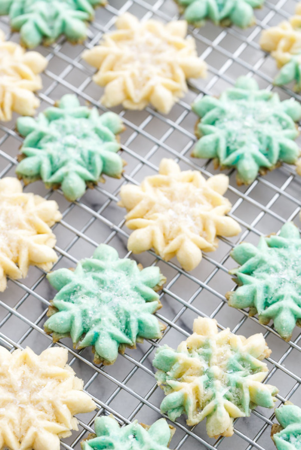 The Recipe for my Grandmother's Perfect Spritz Cookies