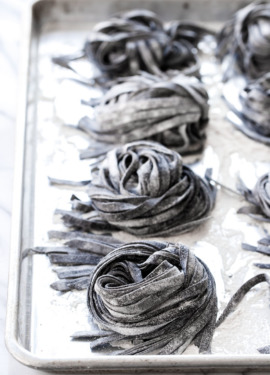 Homemade Squid Ink Pasta Recipe