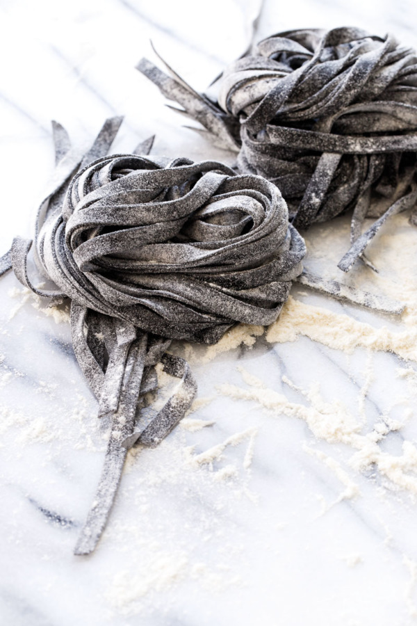 How to Make Homemade Squid Ink Fettuccine - Step by Step Recipe