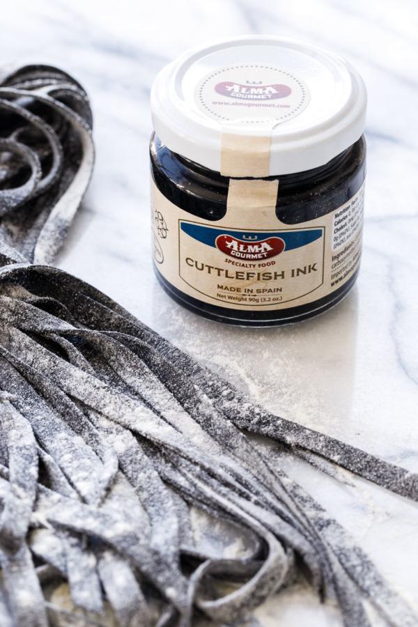 Homemade Squid Ink Pasta Recipe