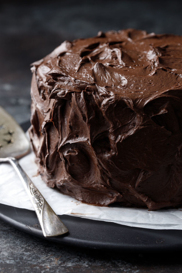 Ultimate Chocolate Cake with Fudge Frosting