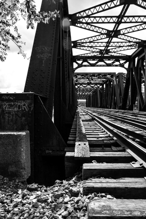 Old railroad bridge, Columbus, Ohio