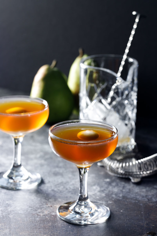 Pear Manhattan Love And Olive Oil