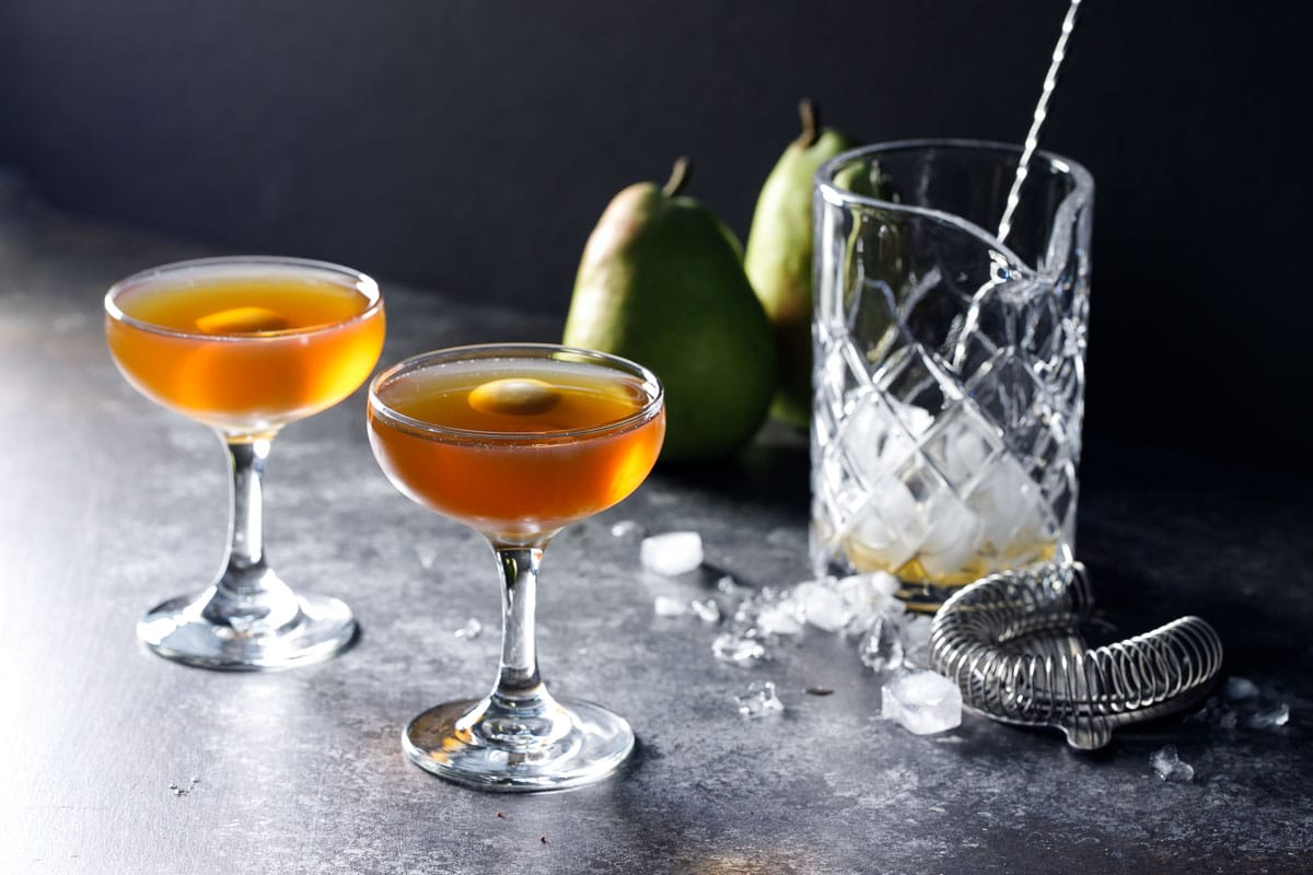 Pear Manhattan