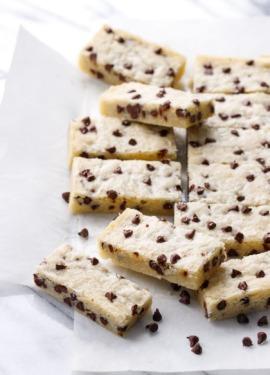 Chocolate Chip Shortbread Recipe
