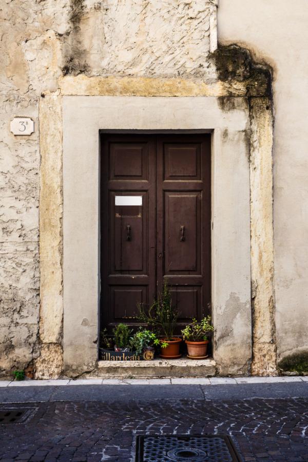 Doorway, Verona, Italy