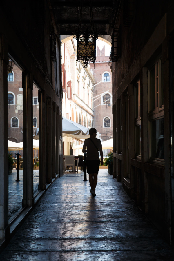Passageway, Verona, Italy