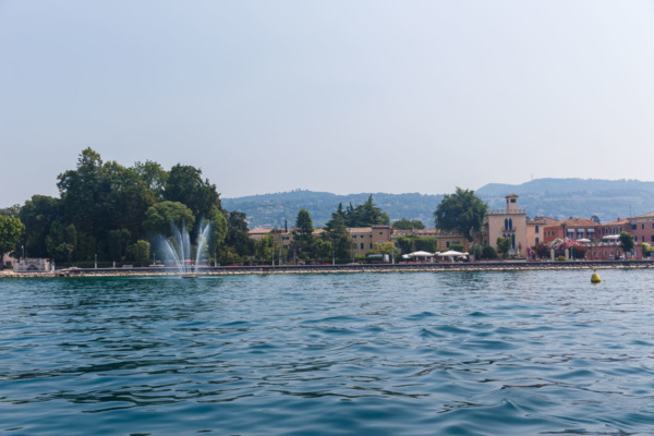 Town of Bardolino on Lake Garda, Italy
