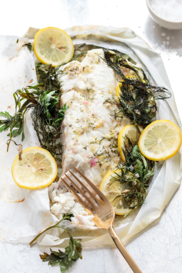 How to Cook Fish en Papillote with Fresh Herbs and Lemon