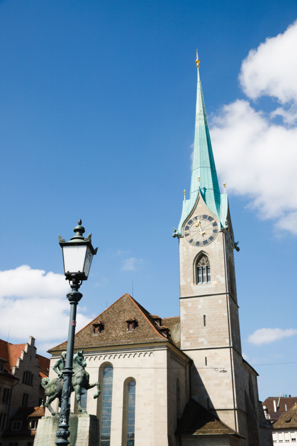 Fraumünster Church, Zurich, Switzerland