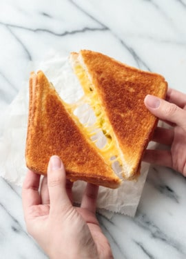 How to make the perfect grilled cheese sandwich!