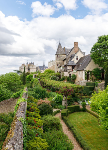 The gorgeous gardens of La Maison Dovalle, Montreuil-Bellay, France