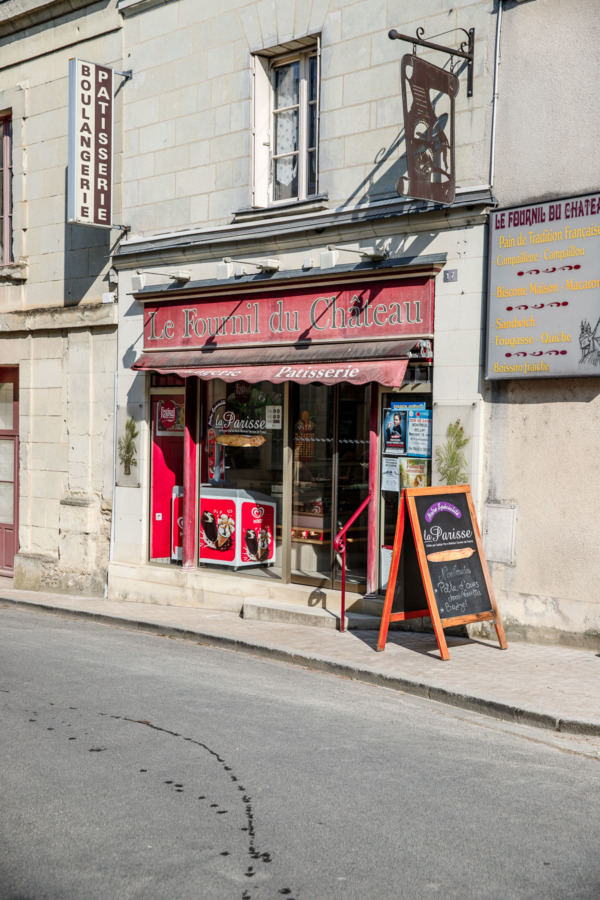 Le Fournil du Château patisserie in Montreuil-Bellay, France