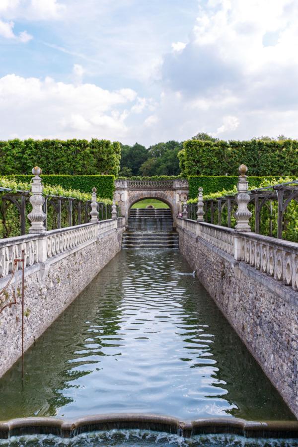 The gorgeous gardens of Château de Villandry, Loire Valley, France