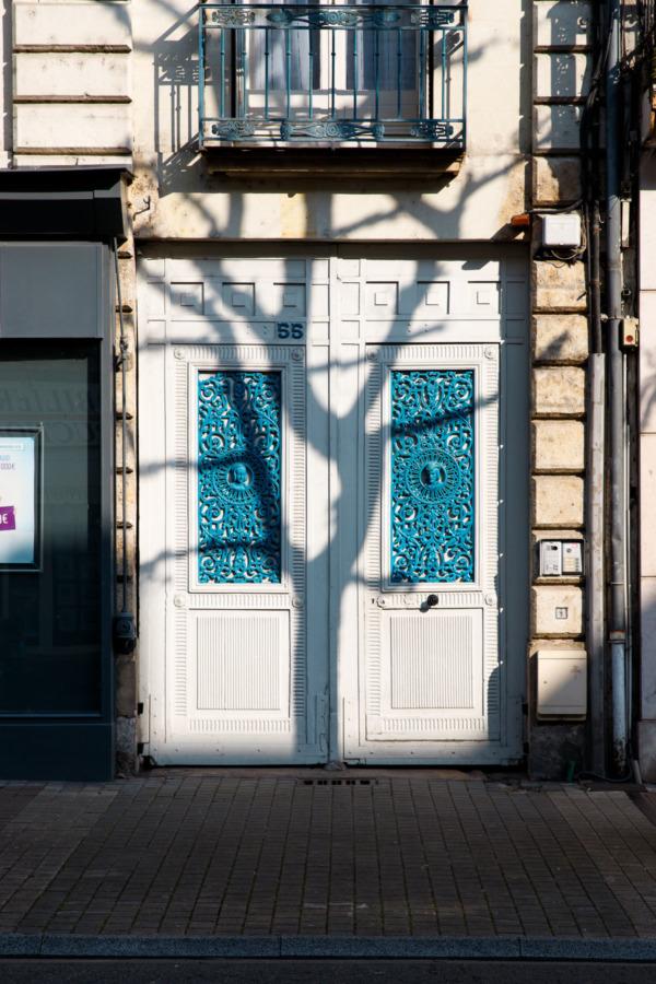 Doors and shadows, Saumur, France