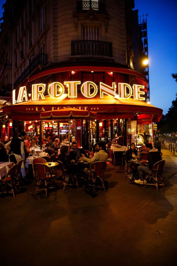 La Rotonde restaruant, Montparnasse, Paris, France