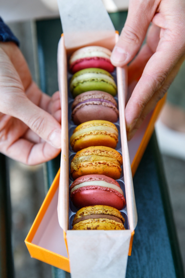 Macarons from Pierre Herme, Paris, France
