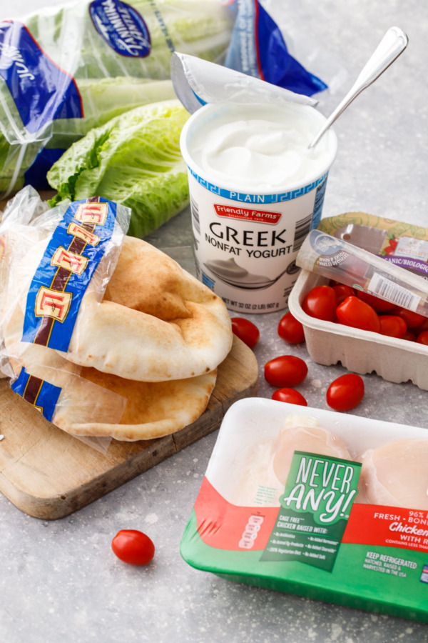 Get all the ingredients you need for this Chicken Caesar Salad Pita recipe at ALDI!