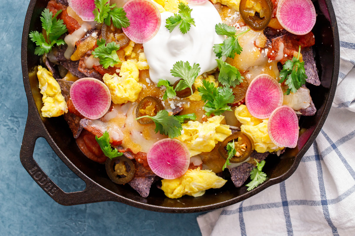 Chilaquiles (Breakfast Nachos)