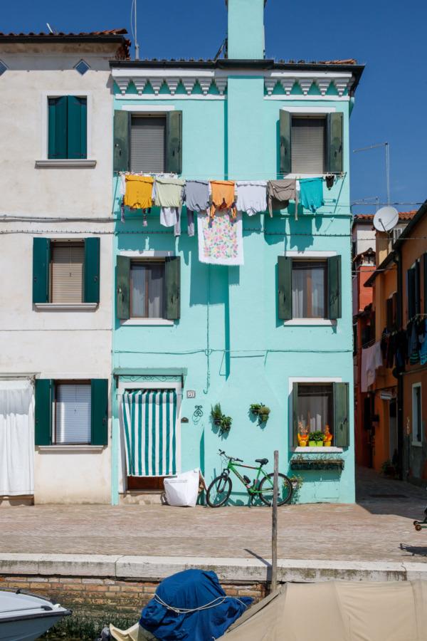 Aqua house, Burano, Italy
