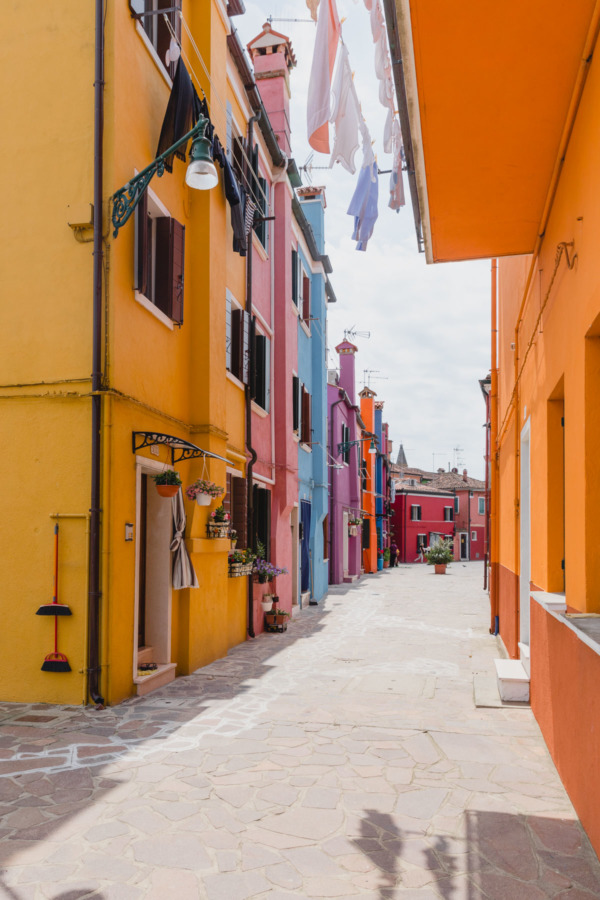 Colorful houses, Burano, Italy