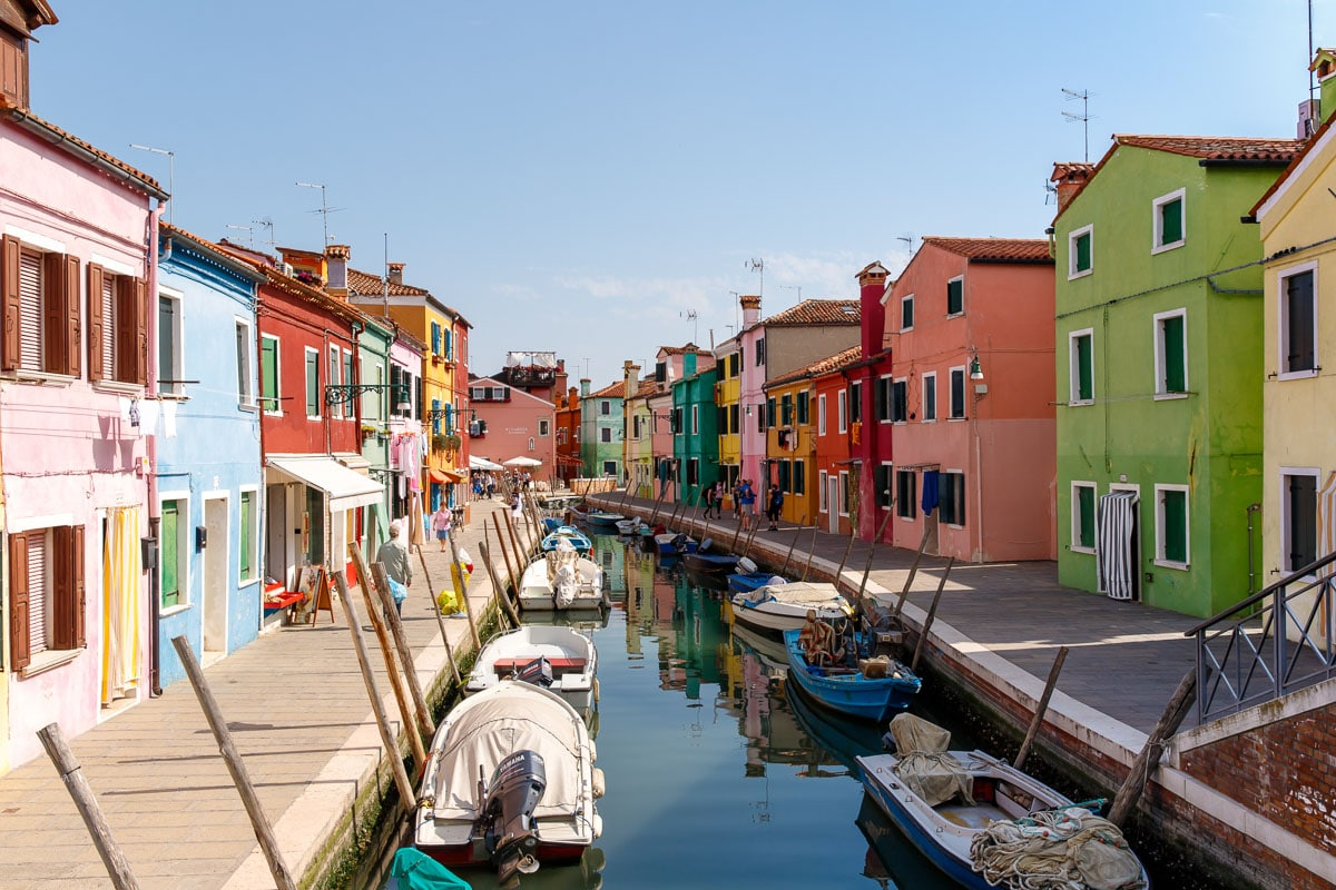 The Colorful Island of Burano, Italy