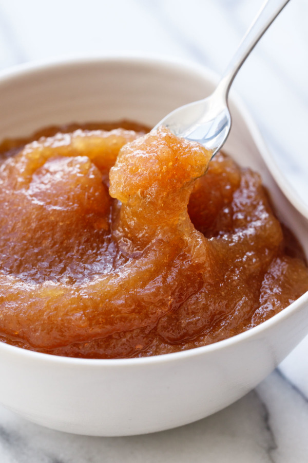 Apple butter is basically thicker, more flavorful applesauce.