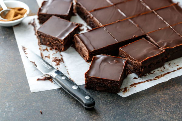 Triple Chocolate Espresso Brownies